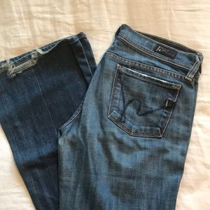 Citizens of Humanity soft + lived in denim jeans